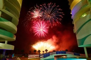 turquoise place fireworks