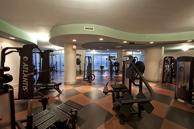 Fitness Center at Turquoise Place Orange Beach