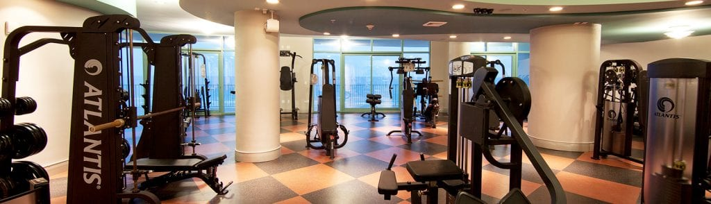 Fitness centers at Turquoise Place Orange Beach AL