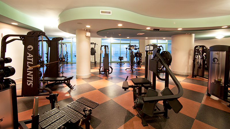 Fitness Rooms at Turquoise Place Resort Orange Beach Alabama