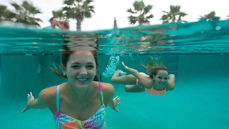 Outside Pool at Turquoise Place Resort Orange Beach Alabama