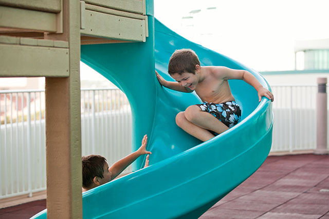 Kids playground at Turquoise Place Orange Beach AL