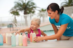 kid's activities at Turquoise Place