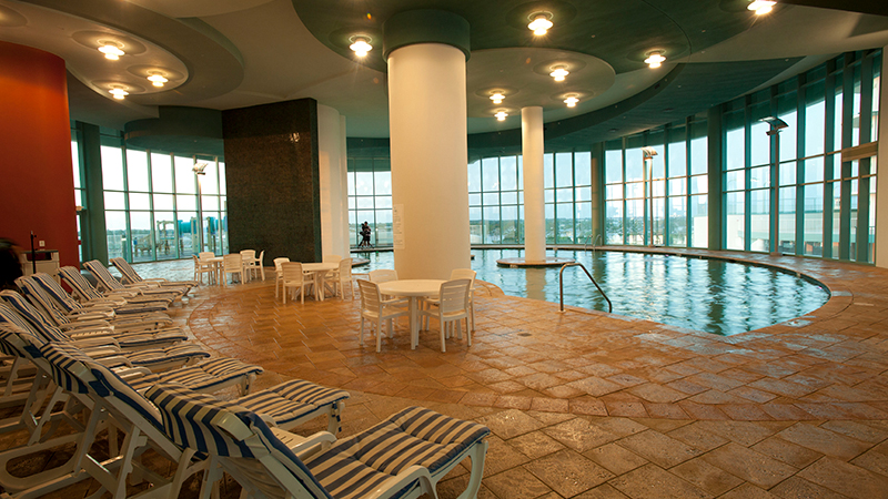 Indoor Pools at Turquoise Place Resort Orange Beach Alabama