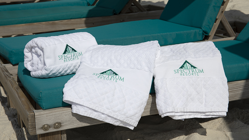 Beach Towels at Turquoise Place Resort Orange Beach Alabama