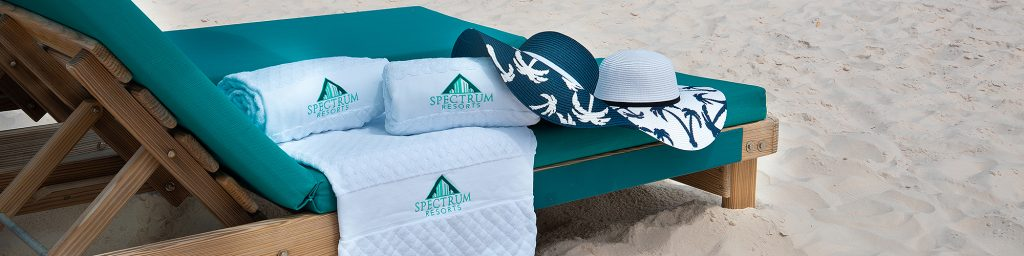 Complimentary beach towels at Turquoise Place Orange Beach Alabama