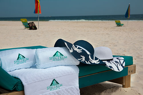 Complimentary Beach Towels