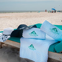Girls Getaway Package - Turquoise Place Orange Beach - beach chairs and towels