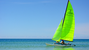 Hobie Cat Rides - Turquoise Place Resort Orange Beach Alabama