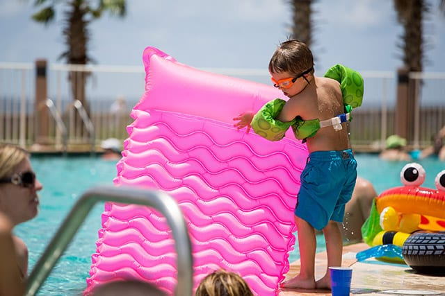 Kiddie pool at Turquoise Place Orange Beach AL