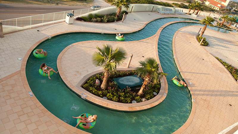Lazy River at Turquoise Place Resort Orange Beach Alabama