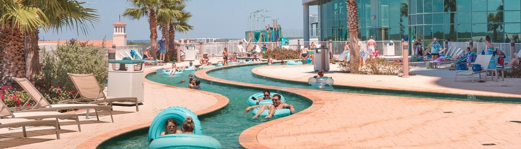 Lazy River Drink Service at Turquoise Place Orange Beach AL