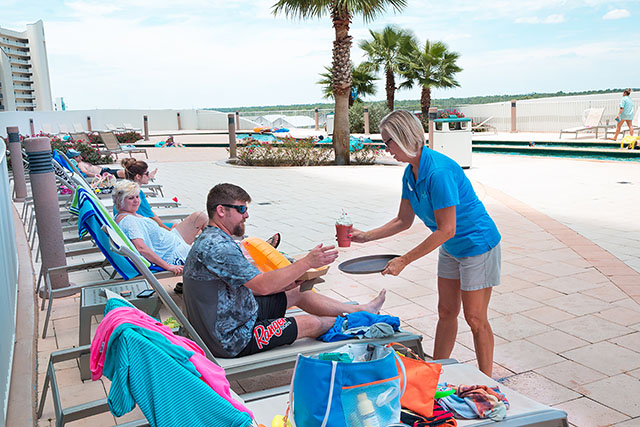 Lazy River Drink Service - Turquoise Place Orange Beach AL
