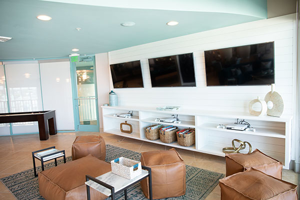 Spectrum Club Lounge - video games - Turquoise Place Orange Beach