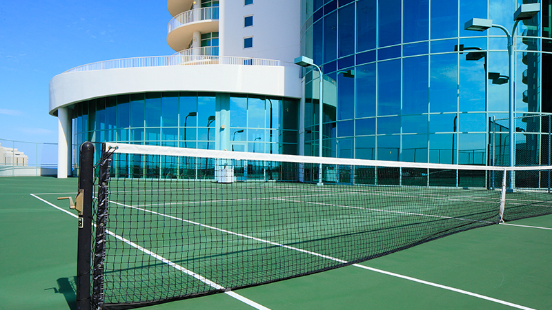 Tennis at Turquoise Place Resort Orange Beach Alabama
