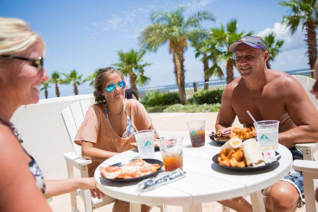 Dining at Turquoise Place Resort Orange Beach Alabama