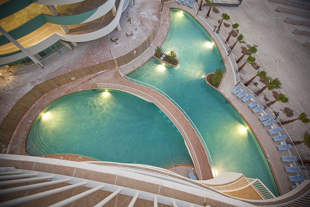 Pools at Turquoise Place Resort Orange Beach Alabama
