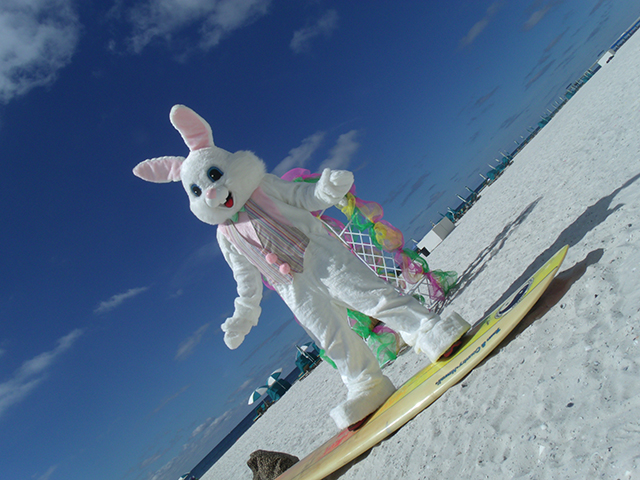 Easter in Orange Beach