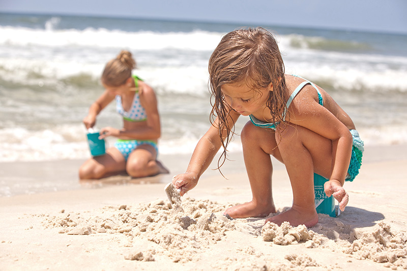 Girls playing on Alabama's Beaches