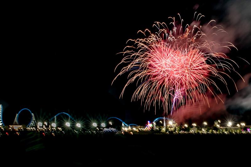 OWA Labor Day celebration fireworks
