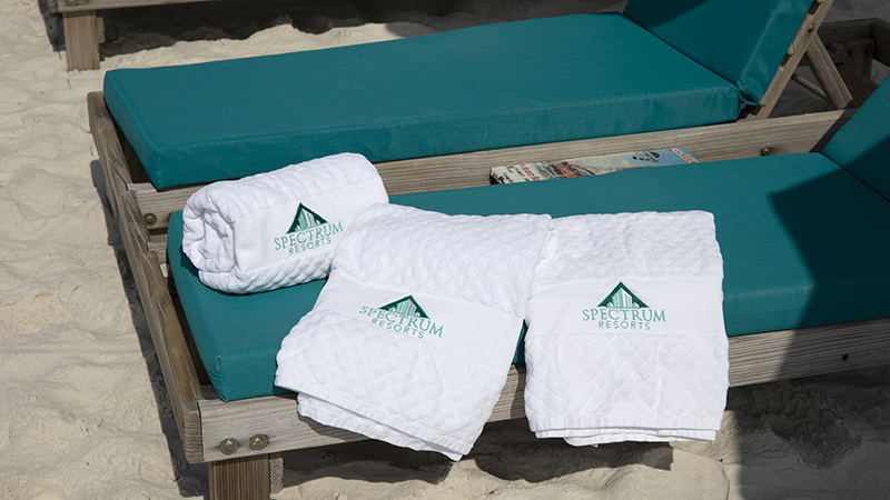 Beach Towels at Turquoise Place Orange Beach Alabama