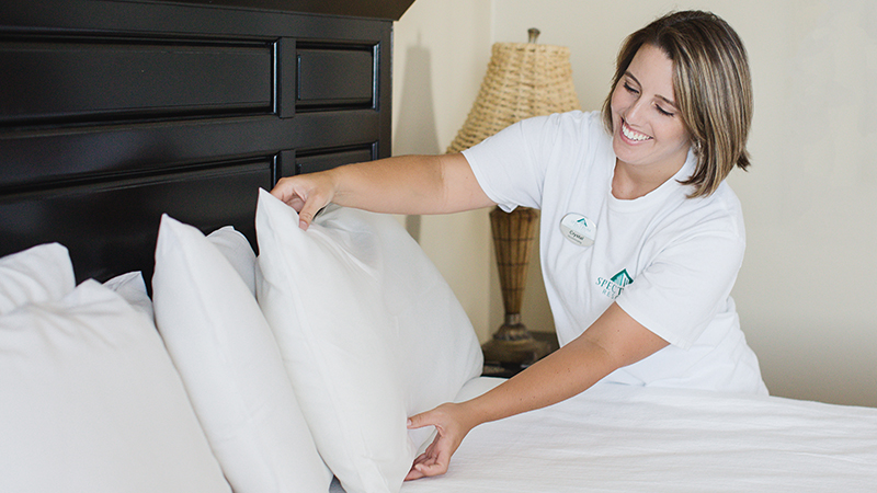 Clean Bed Guarantee at Turquoise Place Resort Orange Beach Alabama