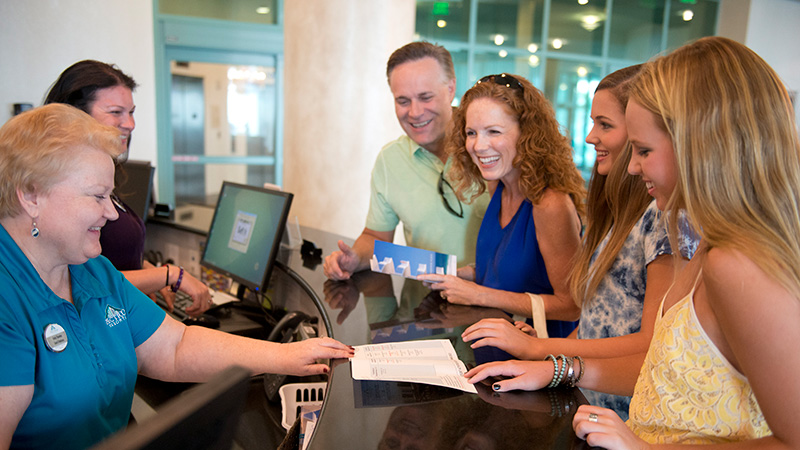 Front Desk and Concierge Services at Turquoise Place Orange Beach Alabama