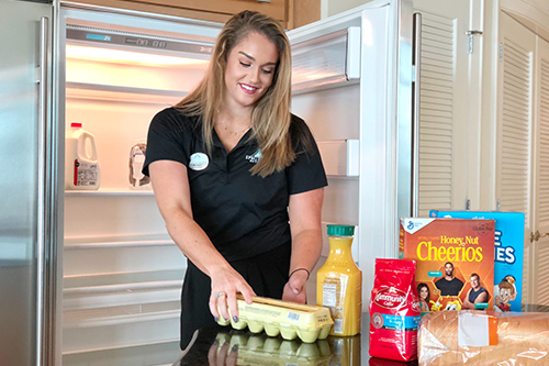 Grocery Delivery at Turquoise Place Resort Orange Beach Alabama