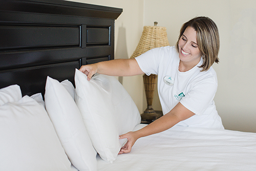 Mid-stay cleaning services at Turquoise Place Resort Orange Beach Alabama