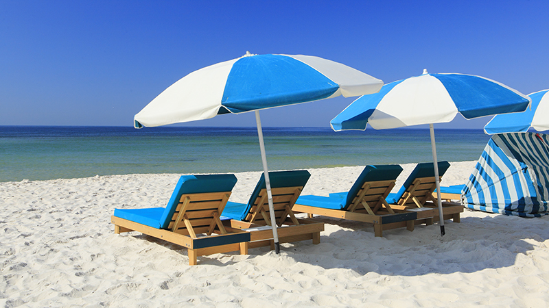 Beach Chair Rentals at Turquoise Place Orange Beach Alabama