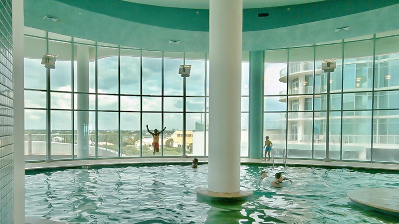 Indoor Pools at Turquoise Place Orange Beach Alabama