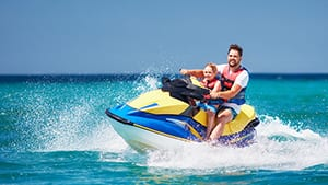 Jet Ski Rentals at Turquoise Place Resort Orange Beach Alabama