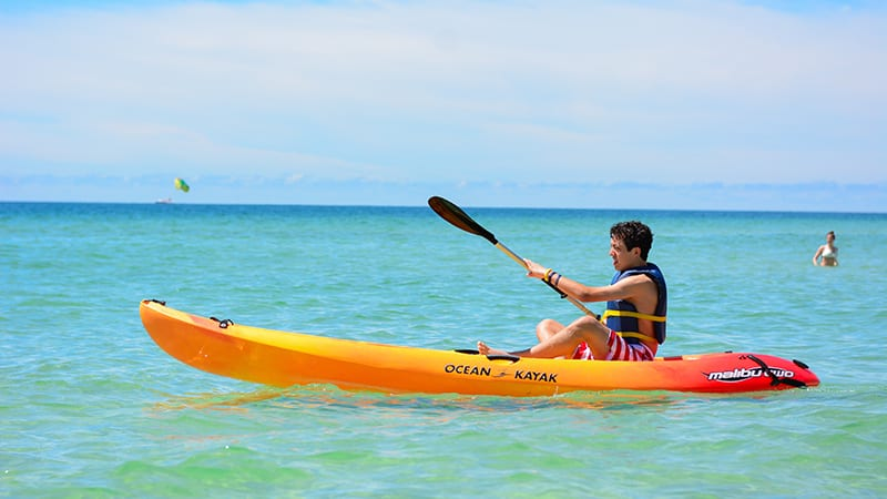 Kayak Rentals at Turquoise Place Resort Orange Beach