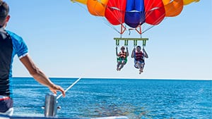 Parasailing Rides at Turquoise Place Resort Orange Beach