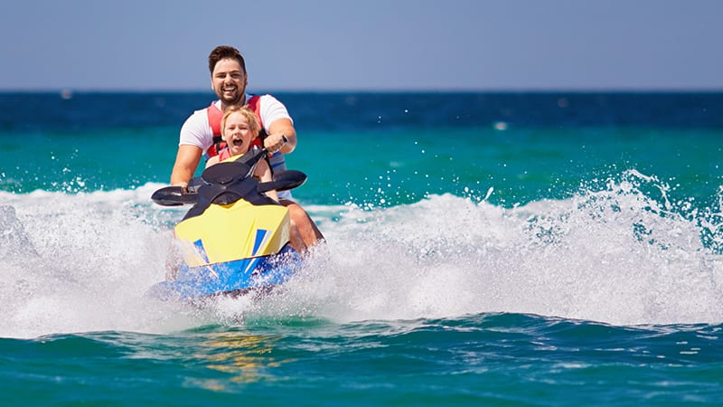 Jet Ski Rentals at Turquoise Place Resort Orange Beach