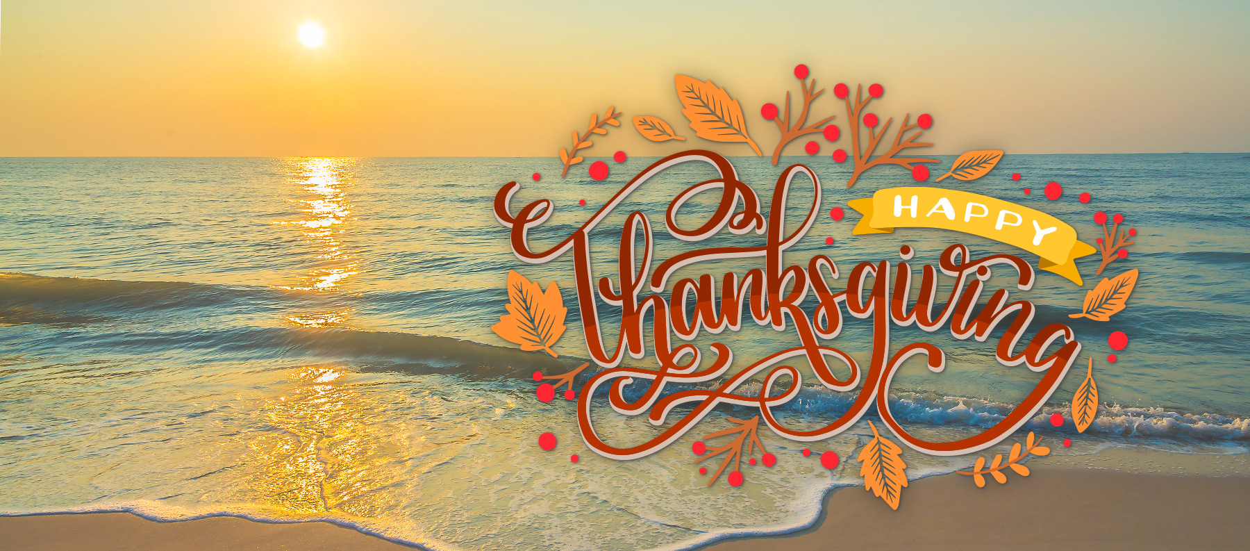 Thanksgiving in Orange Beach